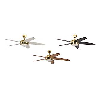 Pepeo Ceiling Fan Melton brass finish with included remote control