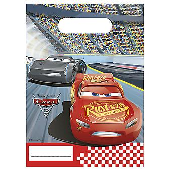 Party bags bags bag cars 3 kids party birthday 6 pieces