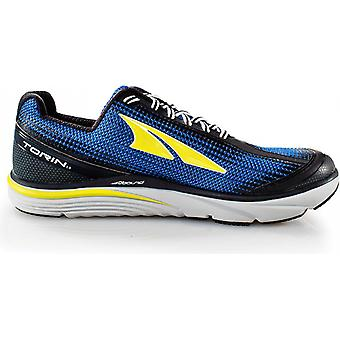 Torin 3.0 Mens Zero Drop Road Running Shoes Blue/Lime