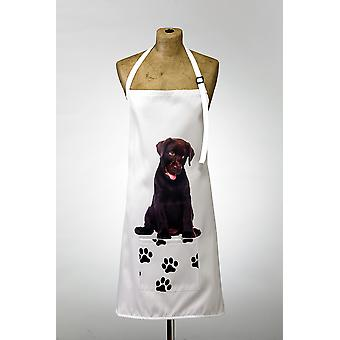 Adorable Chocolate Labrador Design Apron