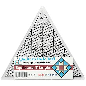 Quilter's Equilateral Triangle Ruler-7-3/4