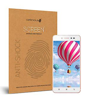 Celicious Impact Anti-Shock Shatterproof Screen Protector Film Compatible with Lenovo Sisley s90