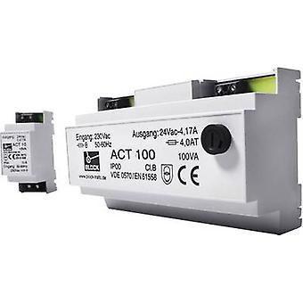 Transformateur bloc ACT 10 sécurité 1 x 230 V 1 x 24 V AC 10 VA 0,416 A