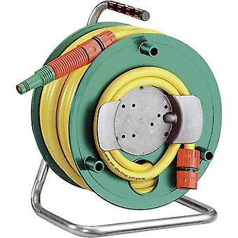 Garden hose reel 13.2 mm 1/2  20 m Green, Yellow
