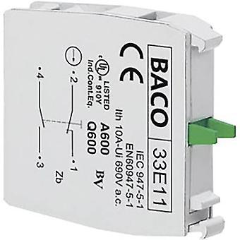 Personne-ressource 1 disjoncteur, 1 machine à momentanée 600 V BACO 33E11 1 PC (s)