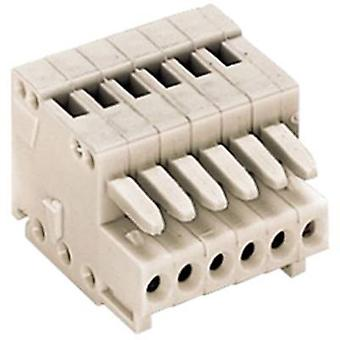 WAGO 733-105 Socket enclosure - cable 733 Total number of pins 5 Contact spacing: 2.50 mm 1 pc(s)