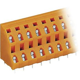 WAGO 2-tier terminal 2.50 mm² Number of pins 4 Orange 1 pc(s)