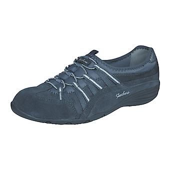 Skechers Unity Beaming Womens Leather Walking Shoes - Grey