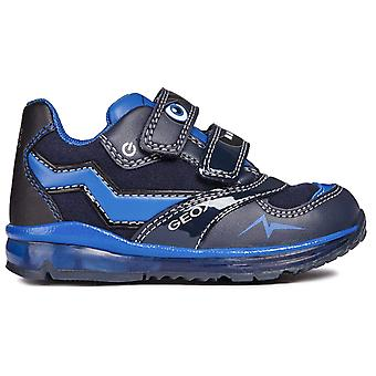 Geox Boys Todo B8484A Trainers Navy Royal