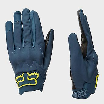 New Fox Attack Fire Waterproof Cycling Glove Blue