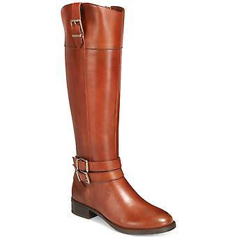 INC internationella begrepp Womens frankll läder stängd tå knä höga Fashio...