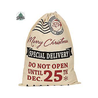 Accessoires père Noël sac 40x54cm