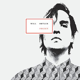 Will Butler - Policy [CD] USA import