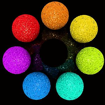 Buy Collection 7 color Changing Crystal Ball LED electronic luminous toys ball light toys multiple color