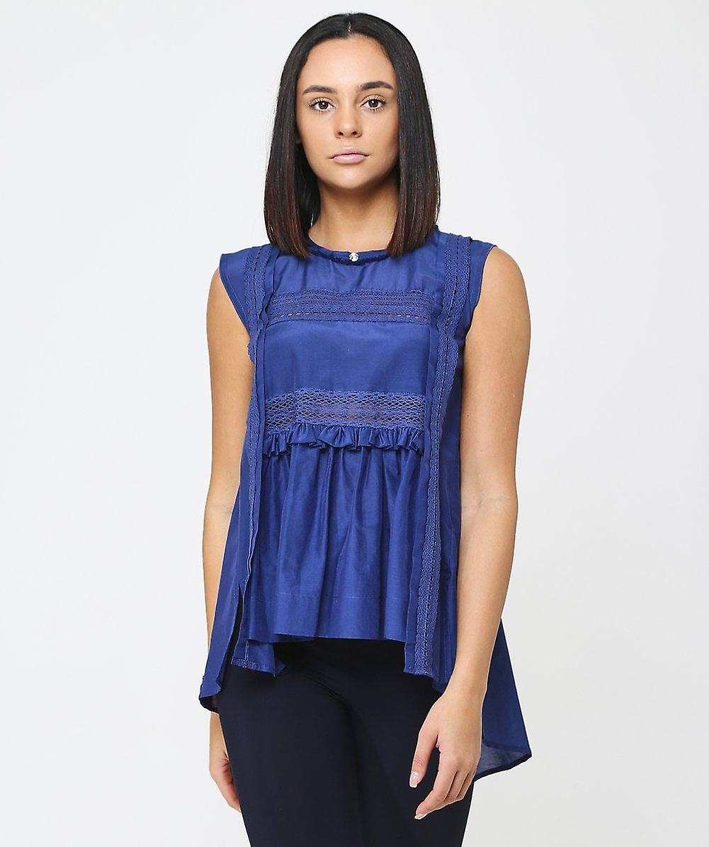 High Cotton & Silk Fantasy Vest Top