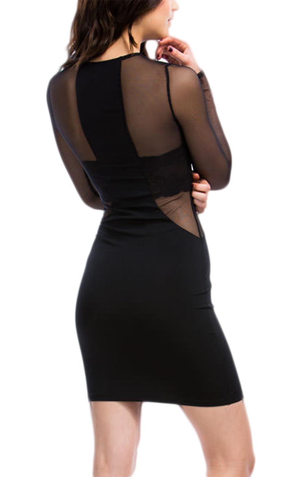 Waooh - Kleid enge halbtransparente Marach