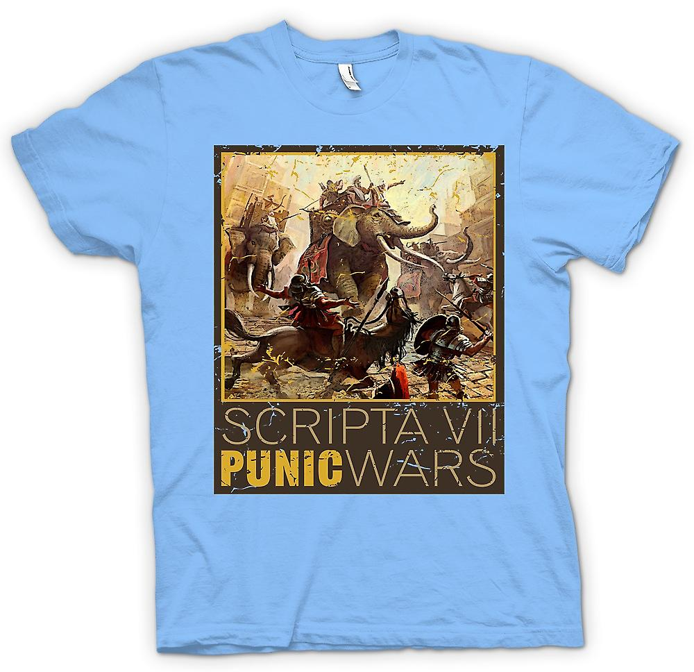 Mens T-shirt - Scripta VII - Punic Wars - Hannibal