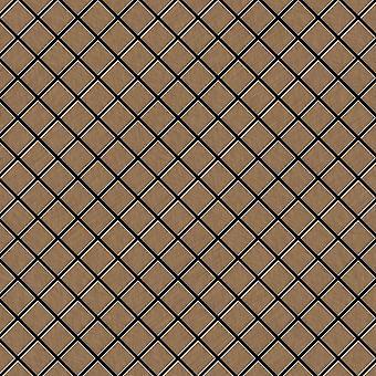 Metal mosaic Titanium ALLOY Diamond-Ti-AB