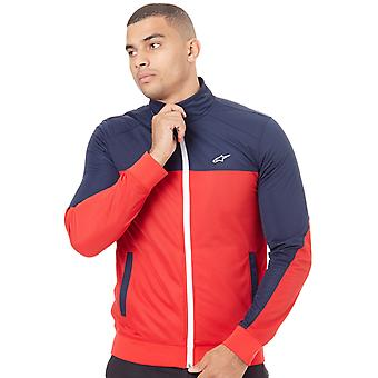 Alpinestars Red-Navy Pace Track Jacket