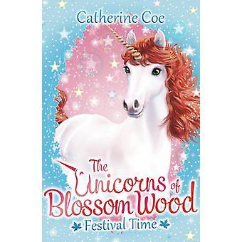 Os unicórnios de flor de madeira 2-2 por Catherine Coe - Bo 9781407171234