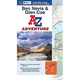 Ben Nevis & Glen Coe Adventure Atlas (A-Z Adventure Atlas)