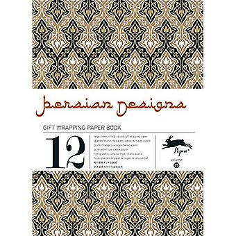 PERSIAN DESIGNS gift wrapping paper book Vol.25