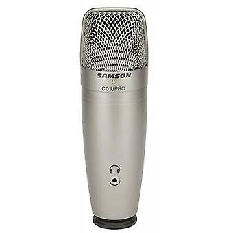 Samson C01UPro USB studiomikrofon med ledning stativ, inkl kabel