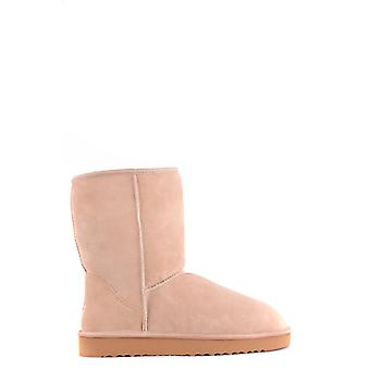 Ugg Beige Suede Ankle Boots