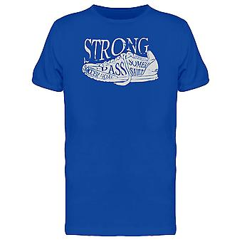 Strong Soccer Sneaker Quotes Tee Men's -Image by Shutterstock