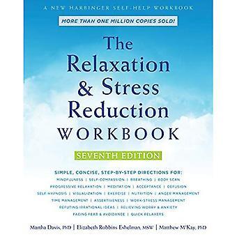Avkoppling och Stress minskning arbetsbok