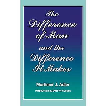 Der Unterschied des Menschen und der Unterschied macht es, indem der Unterschied o