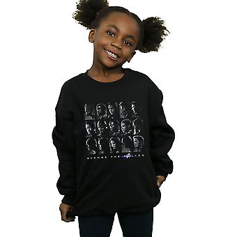 Marvel Girls Avengers Endgame The Fallen Heroes Sweatshirt