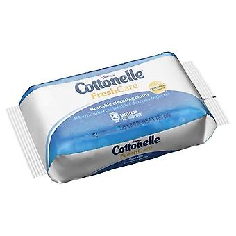 Cottonelle fresh care flushable moist wipes refill, 42 ea