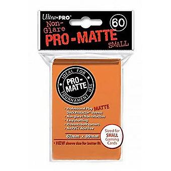 Ultra Pro Matte Small Card Sleeves - Orange