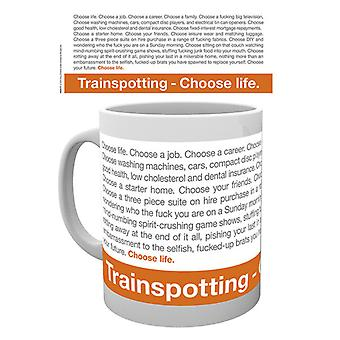 Citation de Trainspotting coffret tasse à boire