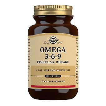 Solgar Omega 3-6-9 Softgels 120 (2028)