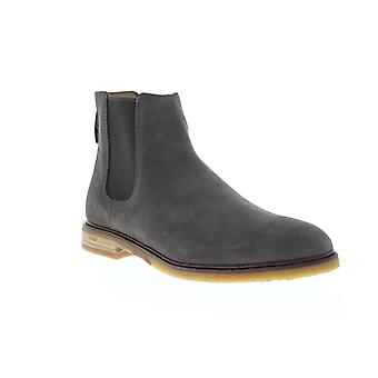 Clarks Clarkdale Gobi Mens Gray Suede Chelsea Slip On Boots Shoes