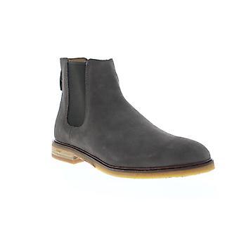 Clarks Clarkdale Gobi Herre grå ruskind Chelsea slip på støvler sko