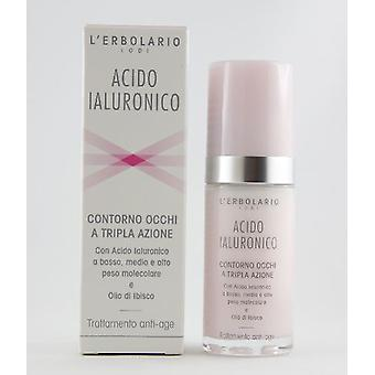 L'Erbolario Hyaluronic acid Eye Contour Triple A