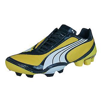 Puma V1.08 FG Boys Football Boots / Cleats - Yellow