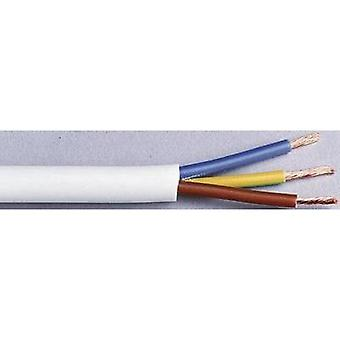 Flexible cable H03VV-F 3 G 0.75 mm² White LappKabel 49900068 10 m