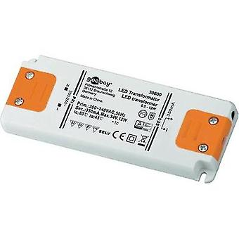 LED driver Constant current Goobay SET CC 350-12 LED 12 W (max)
