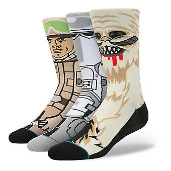 Star Wars Empire Strikes Back 3 Pack chaussettes