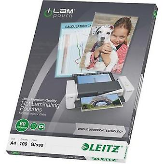 Laminate sheet Leitz DIN A4 80 micron glossy 100 pc(s)