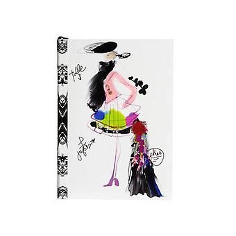 Croquis Fashion Sketch by Christian Lacroix