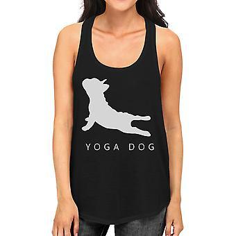 Joga psa Tank Top jogi wypracować Tank Top prezenty dla miłośników psów