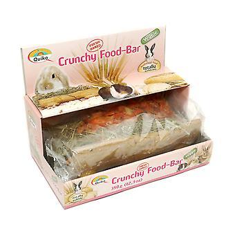 Quiko små dyr Crunchy Food Bar Veggie 350g (pakke med 4)