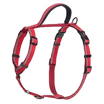 Halti Nylon Walking Harness Red Medium 56-76cm