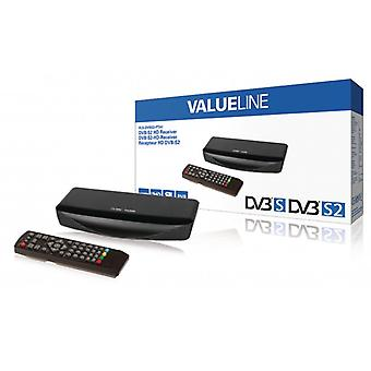 ValueLine Full HD DVB-S2 Receiver 1080 p
