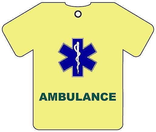 Personalised Ambulance/Paramedic Car Air Freshener